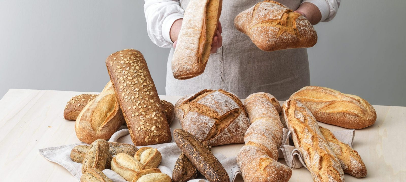 Toute la gamme de pains